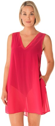 Women's PB Sport Pleated Back Swim Cover Up