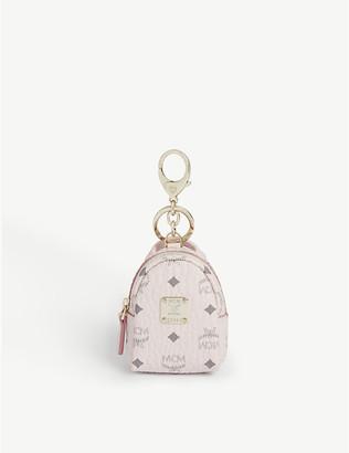 MCM Stark backpack keyring charm