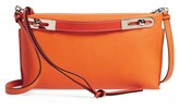 Loewe Small Missy Leather Crossbody Bag - Orange