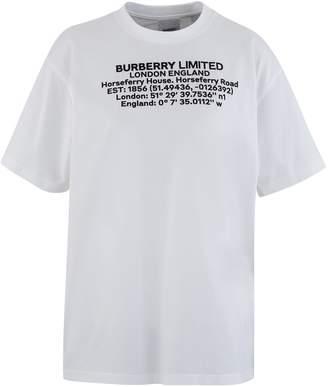 Burberry Carrick printed t-shirt
