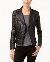 Andrew Marc Felix Leather Moto Jacket