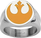 Star Wars FINE JEWELRY Rebel Symbol Mens Stainless Steel Ring
