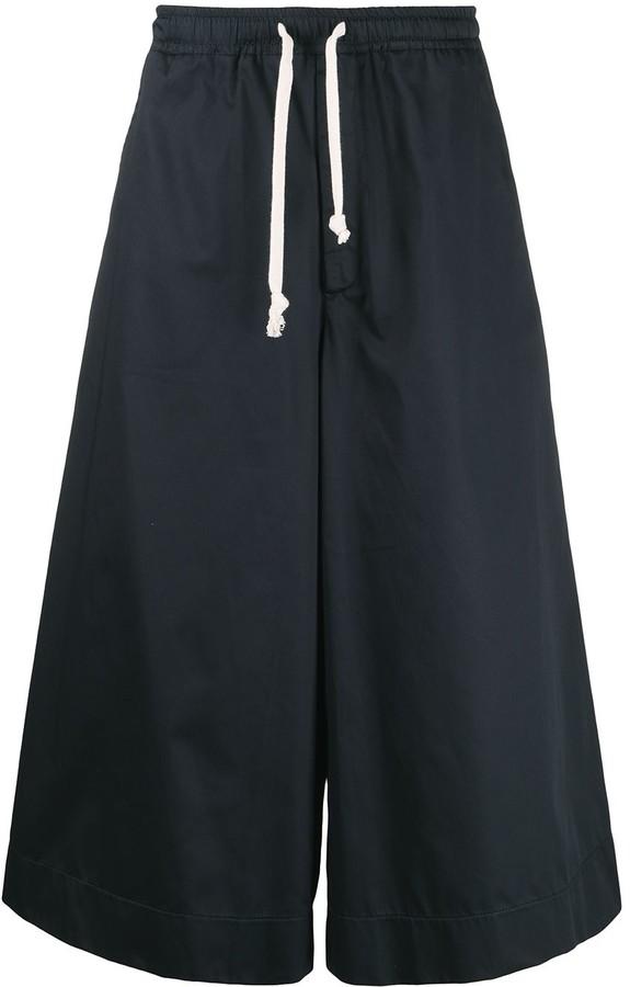 Societe Anonyme Wide Leg Drawstring-Waist Trousers