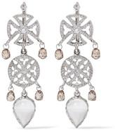 Loree Rodkin 18-karat White Gold Multi-stone Earrings