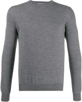 Bikkembergs logo embroidered sweater