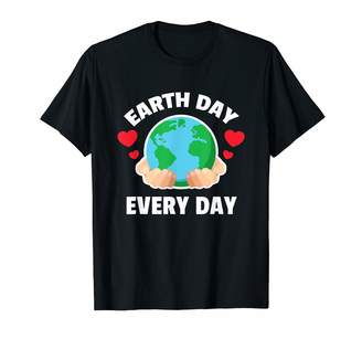 Love Hearts Save Our Planet Caring Tees Earth Day Every Day Hands Globe Cute T Shirt