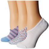 Converse Chucks Festival Print 3-Pair Pack Women's No Show Socks Shoes