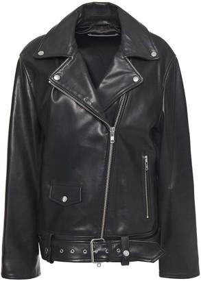 Stand Studio Abi Leather Biker Jacket