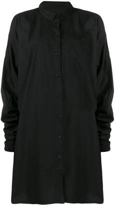 Rundholz Black Label long sleeved shirt dress