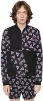 Kenzo Bermuda Triangle Nylon Bomber Jacket