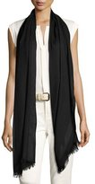 Loro Piana Shadow Striped Cashmere & Silk Stole