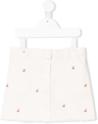 Bonpoint Exie embroidered skirt
