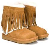 UGG Classic short II fringe boots