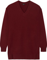 Joseph Wool Sweater - Burgundy