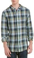 Jachs Classic Fit Linen Woven Shirt.