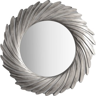Unbranded Rosalyn Round Wall Mirror, 100cm