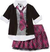 Knitworks Knit Works 2-pc. Top and Skirt Set - Preschool Girls 4-6x