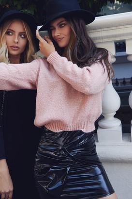 Girls On Film Rose Knitwear