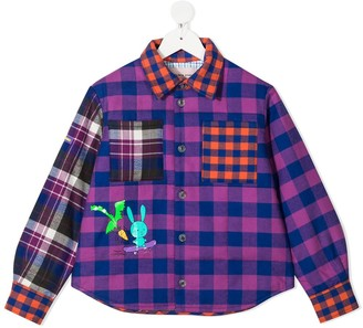 Natasha Zinko Kids Plaid Check Shirt