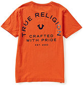 True Religion Big Boys 8-20 Branded Logo Tee