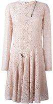 Stella McCartney lace zip detail dress