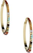 Nakamol Beaded Hoop Earrings