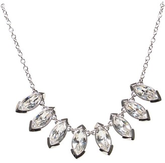 Ted Baker Womens Ilsaa Crystal Necklace Silver-Col