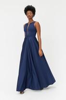 Coast Satin Maxi Tulle Underskirt Dress