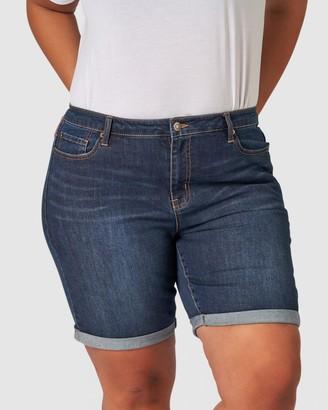 Indigo Tonic Keira Knee Shorts