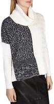 Karen Millen Color-Blocked Knit Sweater