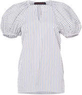 Martin Grant puff sleeve striped blouse