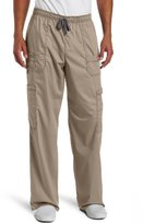Dickies Men's Big and Tall Genflex (Contrast) Drawstring Cargo Scrub Pant