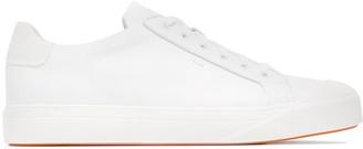 Santoni Low-Top Lace-Up Sneakers