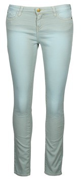 Acquaverde SCARLETT women's Cropped trousers in Blue