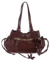 Miu Miu Floral Leather Shoulder Bag