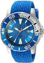 Oceanaut Men's 48mm Silicone Band Steel Case Quartz Analog Watch Oc2918
