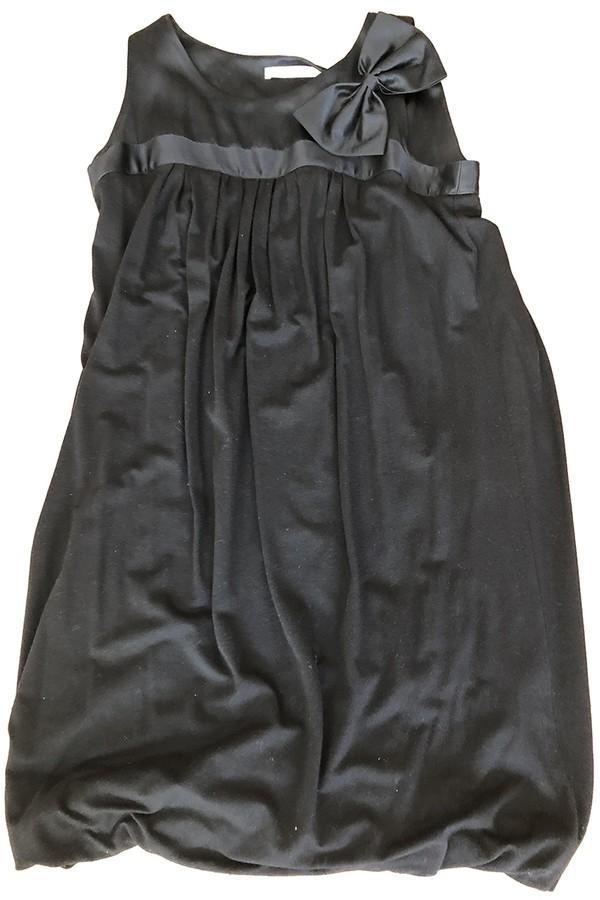 Maje Fall Winter 2019 Black Wool Dresses