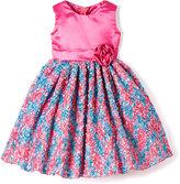 Cotton Candy Rosette Dress - Toddler & Girls