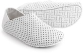 OTZ Shoes Perforated Leather Espadrilles (For Women)
