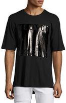 Helmut Lang Box-Fit Film-Print Logo T-Shirt