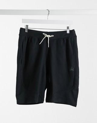 Reebok TE twill shorts in black