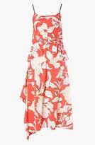Derek Lam Floral Peplum Dress