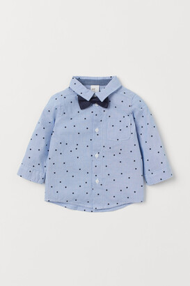 H&M Shirt and Bow Tie