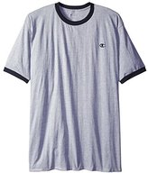 Champion Men's Big & Tall Short-Sleeve Ringer T-Shirt