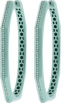 Sorellina Otto Mint Hoop Earrings