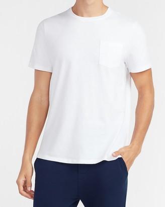 Express Solid Pocket T-Shirt