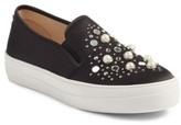 Steve Madden Women's Glade Embellished Slip-On Sneaker