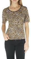 TanJay Tan Jay Women's Tan Jay Leopard Print T-Shirt