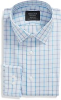 Thumbnail for your product : Nordstrom Trim Fit Medium Check Dress Shirt
