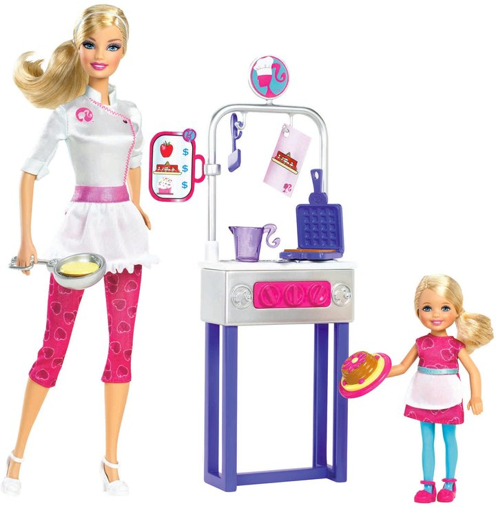 Barbie I Can Be... Pancake Chef Playset